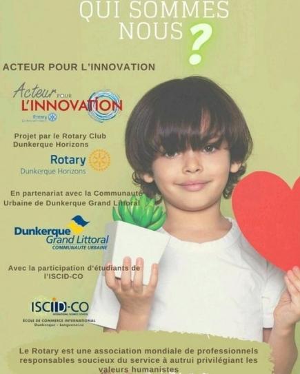 Transformation énergétique et écologique, des enjeux partagés avec les nouvelles générations et le Rotary International .